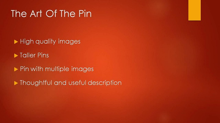 How To Optimize Your Pins
